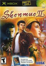 Box cover for Shenmue 2 on the Microsoft Xbox.