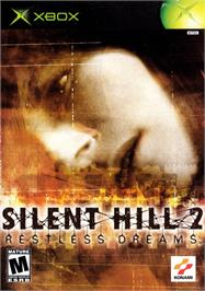 Box cover for Silent Hill 2: Restless Dreams on the Microsoft Xbox.