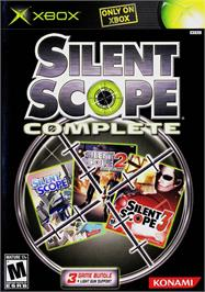 Box cover for Silent Scope Complete on the Microsoft Xbox.