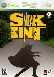 Box cover for Sneak King on the Microsoft Xbox.