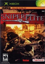 Box cover for Sniper Elite: Berlin 1945 on the Microsoft Xbox.