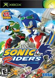 Box cover for Sonic Riders on the Microsoft Xbox.