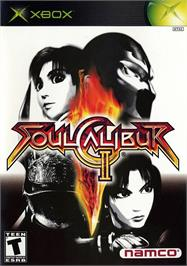 Box cover for SoulCalibur 2 on the Microsoft Xbox.