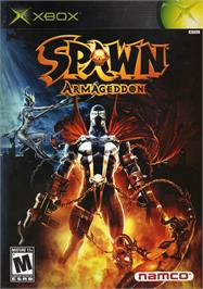 Box cover for Spawn: Armageddon on the Microsoft Xbox.