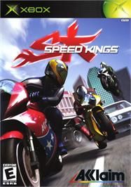 Box cover for Speed Kings on the Microsoft Xbox.