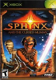 Box cover for Sphinx and the Cursed Mummy on the Microsoft Xbox.