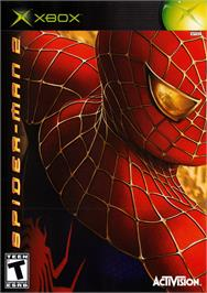 Box cover for Spider-Man 2 on the Microsoft Xbox.