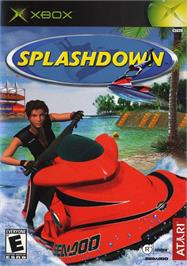 Box cover for Splashdown on the Microsoft Xbox.