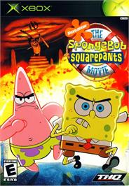 Box cover for SpongeBob SquarePants: The Movie on the Microsoft Xbox.