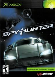 Box cover for Spy Hunter on the Microsoft Xbox.