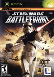 Box cover for Star Wars: Battlefront on the Microsoft Xbox.