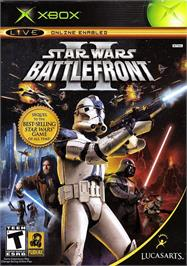 Box cover for Star Wars: Battlefront 2 on the Microsoft Xbox.