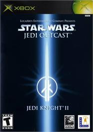 Box cover for Star Wars: Jedi Knight II - Jedi Outcast on the Microsoft Xbox.