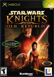 Box cover for Star Wars: Knights of the Old Republic on the Microsoft Xbox.