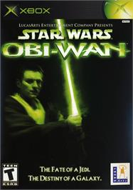 Box cover for Star Wars: Obi-Wan on the Microsoft Xbox.