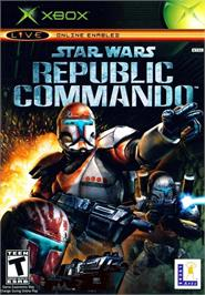 Box cover for Star Wars: Republic Commando on the Microsoft Xbox.