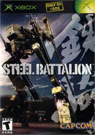 Box cover for Steel Battalion on the Microsoft Xbox.