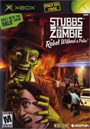 Box cover for Stubbs the Zombie in Rebel Without a Pulse on the Microsoft Xbox.