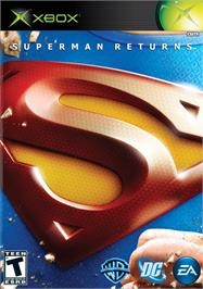 Box cover for Superman Returns on the Microsoft Xbox.