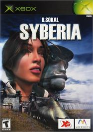 Box cover for Syberia on the Microsoft Xbox.