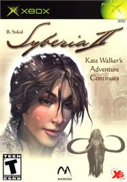 Box cover for Syberia 2 on the Microsoft Xbox.