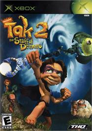 Box cover for Tak 2: The Staff of Dreams on the Microsoft Xbox.