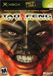 Box cover for Tao Feng: Fist of the Lotus on the Microsoft Xbox.