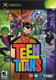 Box cover for Teen Titans on the Microsoft Xbox.
