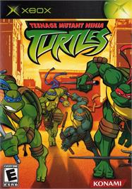 Box cover for Teenage Mutant Ninja Turtles: Mutant Melee on the Microsoft Xbox.