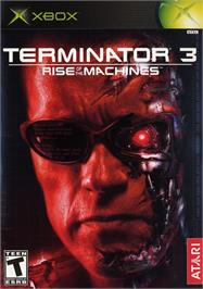 Box cover for Terminator 3: Rise of the Machines on the Microsoft Xbox.