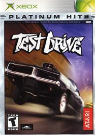 Box cover for Test Drive on the Microsoft Xbox.