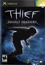 Box cover for Thief: Deadly Shadows on the Microsoft Xbox.