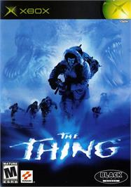 Box cover for Thing on the Microsoft Xbox.