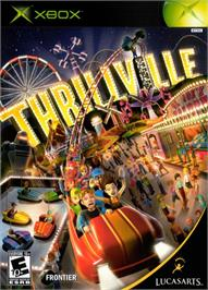 Box cover for Thrillville on the Microsoft Xbox.