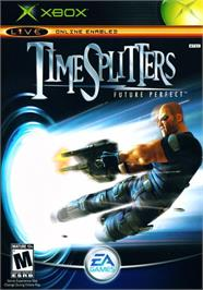 Box cover for TimeSplitters: Future Perfect on the Microsoft Xbox.