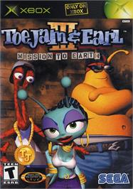 Box cover for ToeJam & Earl III: Mission to Earth on the Microsoft Xbox.