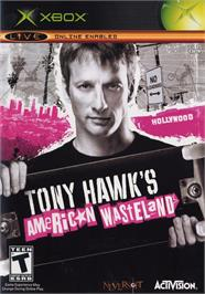 Box cover for Tony Hawk's American Wasteland on the Microsoft Xbox.