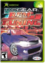 Box cover for Top Gear RPM Tuning on the Microsoft Xbox.