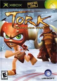 Box cover for Tork: Prehistoric Punk on the Microsoft Xbox.