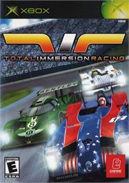 Box cover for Total Immersion Racing on the Microsoft Xbox.