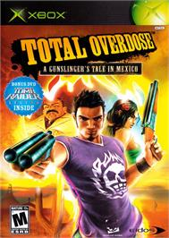 Box cover for Total Overdose: A Gunslinger's Tale in Mexico on the Microsoft Xbox.