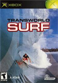 Box cover for TransWorld SURF on the Microsoft Xbox.
