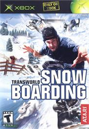Box cover for TransWorld Snowboarding on the Microsoft Xbox.
