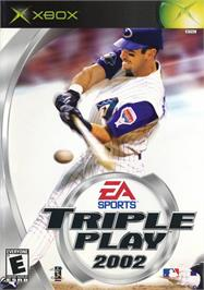 Box cover for Triple Play 2002 on the Microsoft Xbox.