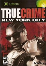 Box cover for True Crime: New York City on the Microsoft Xbox.