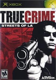 Box cover for True Crime: Streets of LA on the Microsoft Xbox.