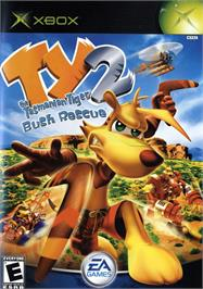 Box cover for Ty the Tasmanian Tiger 2: Bush Rescue on the Microsoft Xbox.