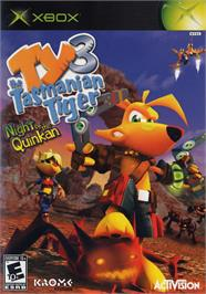 Box cover for Ty the Tasmanian Tiger 3: Night of the Quinkan on the Microsoft Xbox.