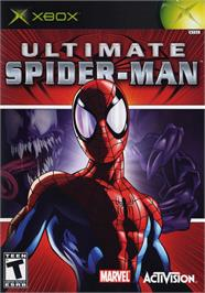 Box cover for Ultimate Spider-Man on the Microsoft Xbox.