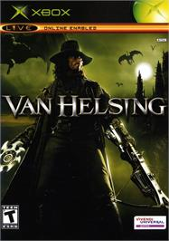 Box cover for Van Helsing on the Microsoft Xbox.